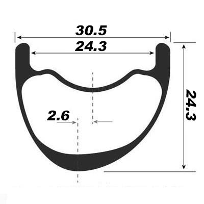 Asymmetric shape